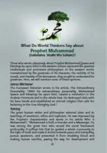What Do World Thinkers Say about